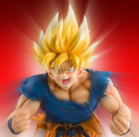 Son Goku SSJ - Dragon Ball Kai - Super Figure Art Collection - 18 Pre- Painted Figure Medicos 3