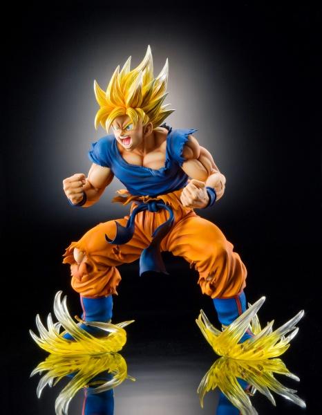 Son Goku SSJ - Dragon Ball Kai - Super Figure Art Collection - 18 Pre- Painted Figure Medicos 4
