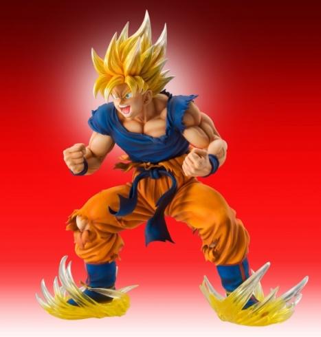 Son Goku SSJ - Dragon Ball Kai - Super Figure Art Collection - 18 Pre- Painted Figure Medicos