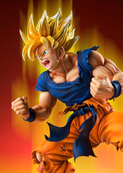 Son Goku SSJ - Dragon Ball Kai - Super Figure Art Collection - 18 Pre- Painted Figure Medicos2