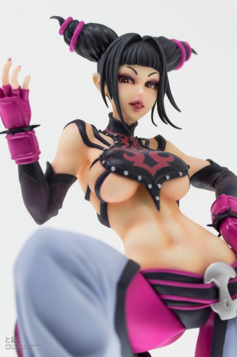 Super Street Fighter IV - Han Juri - Bishoujo Statue - Street Fighter x Bishoujo