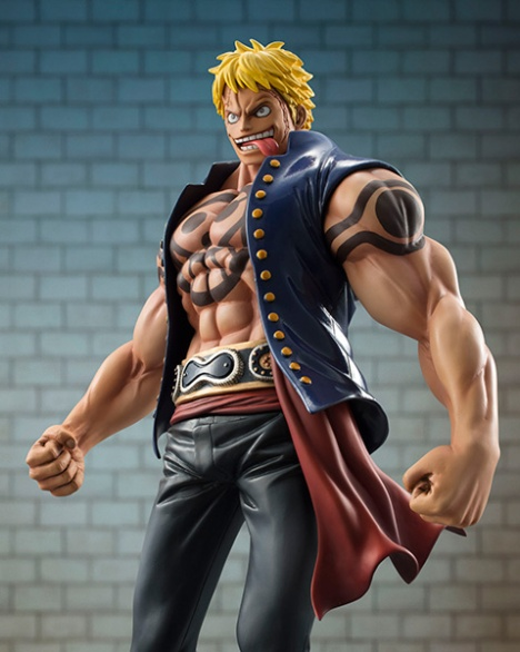 Bellamy the Hyena - One Piece - Excellent Model - Portrait Of Pirates Sailing Again 18 Pre-Painted Figure 4