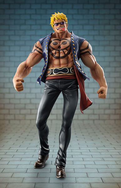Bellamy the Hyena - One Piece - Excellent Model - Portrait Of Pirates Sailing Again 18 Pre-Painted Figure