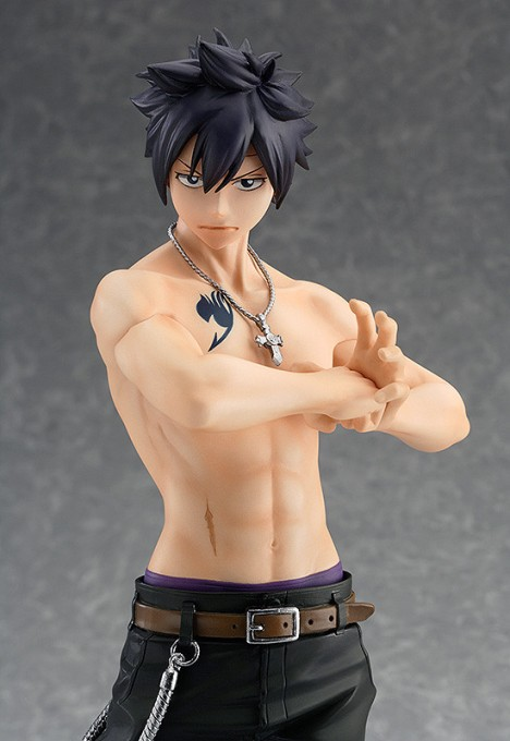 Gray Fullbuster GSC Ver. - Fairy Tail - 17 Pre-Painted Figure 6