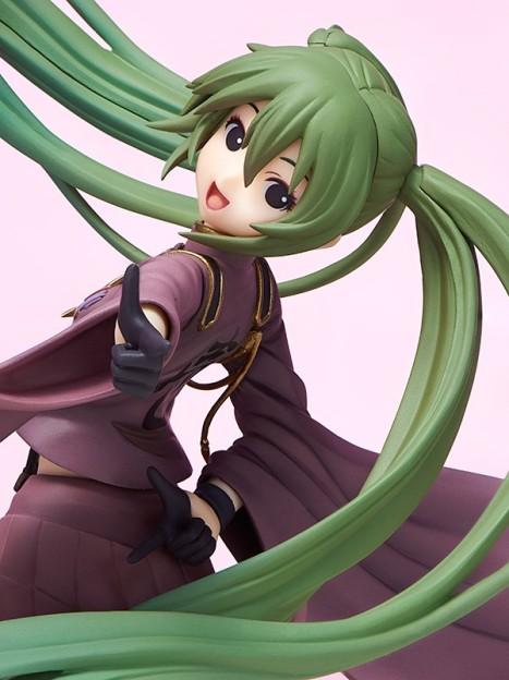 Hatsune Miku Senbonzakura ver. - Vocaloid 18 Pre-Painted Figure 2