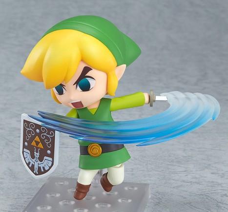 Link - Zelda no Densetsu Kaze no Takt - Nedoroid - Pre-Painted Figure 2