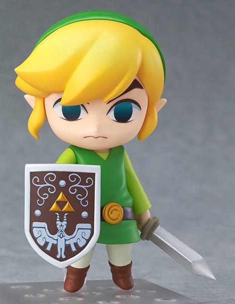 Link - Zelda no Densetsu Kaze no Takt - Nedoroid - Pre-Painted Figure
