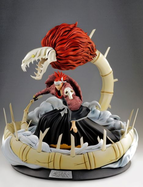 Renji Abarai - Bleach - HQS 16 Pre-Painted Figure