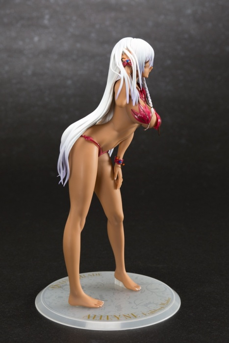 Alleyne Swimsuit EX Color Ver. - Queen's Blade 16 Pre-Painted Figure