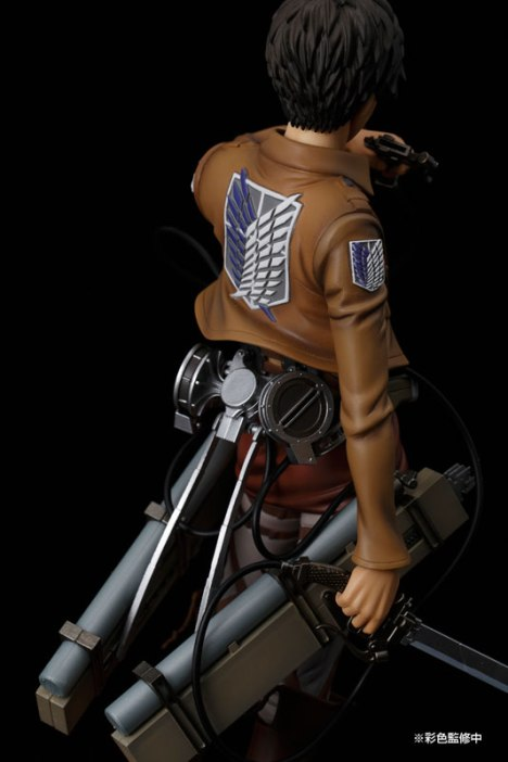 Eren Yeager - Shingeki no Kyojin - BRAVE-ACT 18 Pre-Painted Figure 2