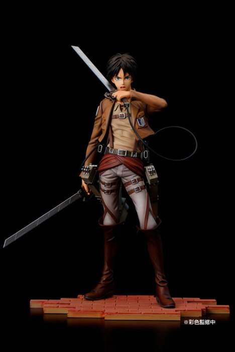Eren Yeager - Shingeki no Kyojin - BRAVE-ACT 18 Pre-Painted Figure 3