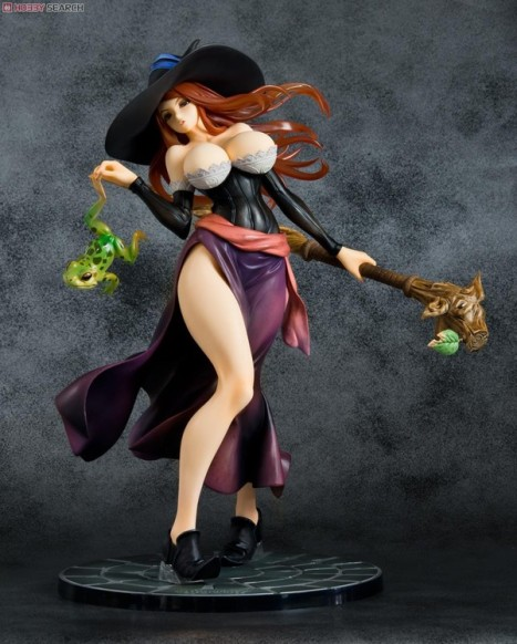 Sorceress - Dragon's Crown - Excellent Model - 17 Pre-Painted Figure