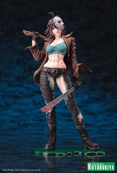 Jason Voorhees - Freddy vs. Jason - Bishoujo Statue - Movie x Bishoujo - 17 Pre-Painted Figure 2