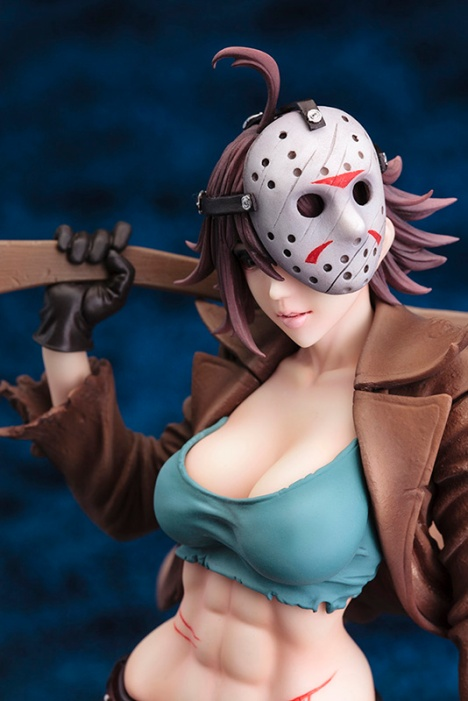 Jason Voorhees - Freddy vs. Jason - Bishoujo Statue - Movie x Bishoujo - 17 Pre-Painted Figure 4