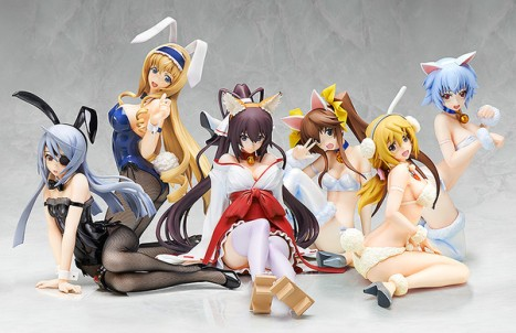 Laura Bodewig - IS Infinite Stratos 2 - 14 - Bunny ver. Pre-Painted Figure 5