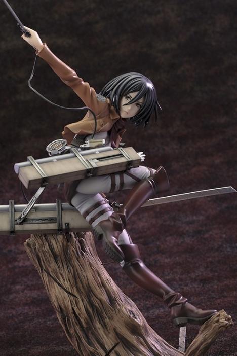 Mikasa Ackerman - Shingeki no Kyojin - ARTFX J - 18 Pre-Painted Figure 4