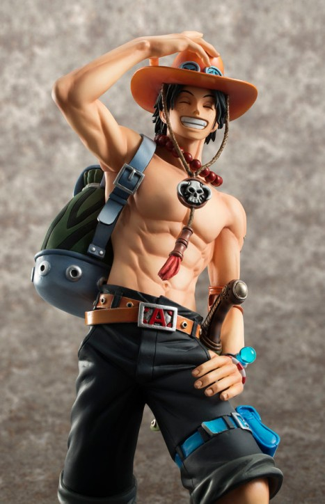 Portgas D. Ace - One Piece - Excellent Model - Portrait Of Pirates DX - 10th Limited Ver. 18 Pre-Painted Figure 3