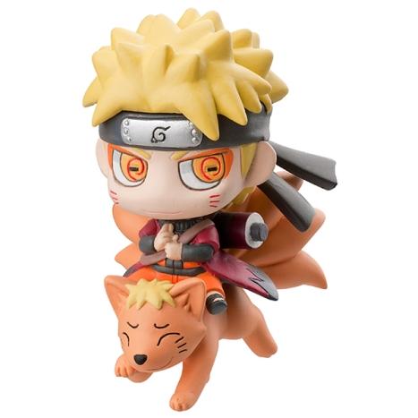 Uzumaki Naruto Sage - Naruto Shippuuden - Petit Chara Land MegaHobby 2013 Exclusive Spring Pre-Painted Figure 2