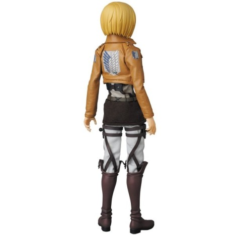 Armin Arlert - RAH - Shingeki no Kyojin - Real Action Heroes #676 - 16 Pre-Painted Action Figure 3