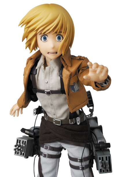 Armin Arlert - RAH - Shingeki no Kyojin - Real Action Heroes #676 - 16 Pre-Painted Action Figure 4