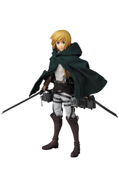 Armin Arlert - RAH - Shingeki no Kyojin - Real Action Heroes #676 - 16 Pre-Painted Action Figure 5
