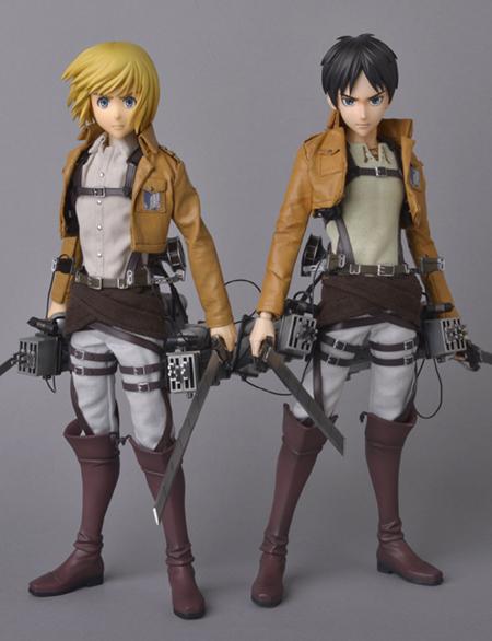 Armin Arlert - RAH - Shingeki no Kyojin - Real Action Heroes #676 - 16 Pre-Painted Action Figure 6