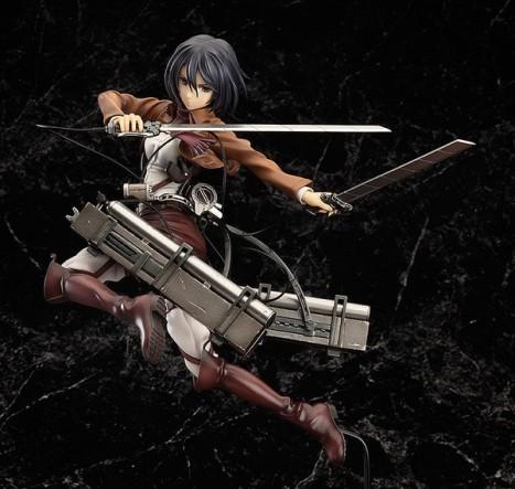 Mikasa Ackerman - Shingeki no Kyojin - 18 Pre-Painted Figure 2