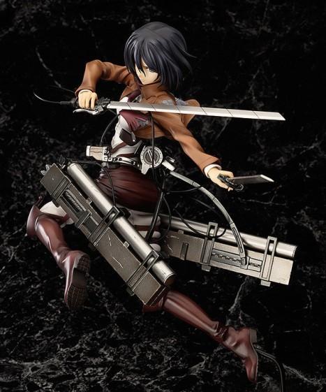 Mikasa Ackerman - Shingeki no Kyojin - 18 Pre-Painted Figure 3