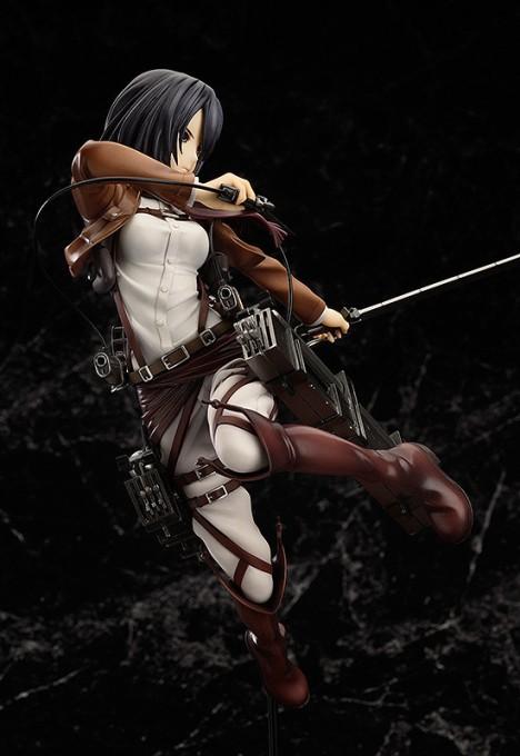 Mikasa Ackerman - Shingeki no Kyojin - 18 Pre-Painted Figure 4