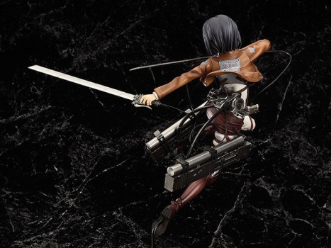 Mikasa Ackerman - Shingeki no Kyojin - 18 Pre-Painted Figure 5