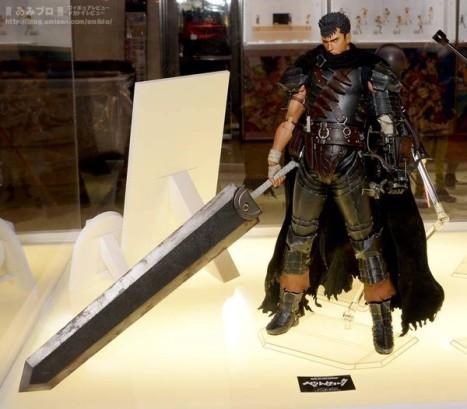 Berserk - Guts - Real Action Heroes #704 - 16 - The Black Swordsman Ver. (Medicom)