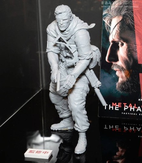 Metal Gear Solid V The Phantom Pain - Naked Snake - Hdge - Mens Hdge - (Union)