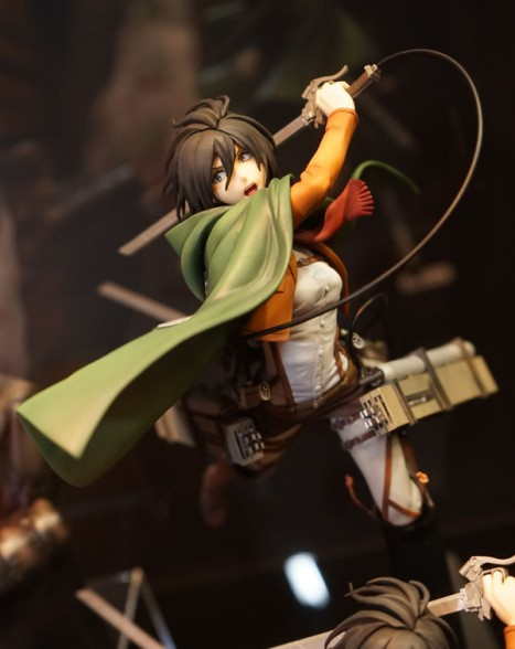 Shingeki no Kyojin - Mikasa Ackerman - Hdge No.6 - DX Ver. (Union Creative Int)