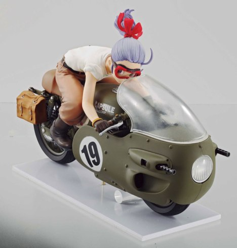 Bulma - Dragon Ball - Desktop Real McCoy 03 Pre-Painted Figure 2