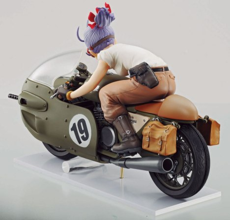 Bulma - Dragon Ball - Desktop Real McCoy 03 Pre-Painted Figure 3