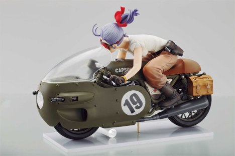 Bulma - Dragon Ball - Desktop Real McCoy 03 Pre-Painted Figure 4