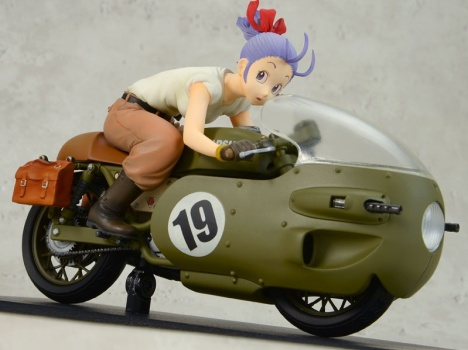 Bulma - Dragon Ball - Desktop Real McCoy 03 Pre-Painted Figure 5