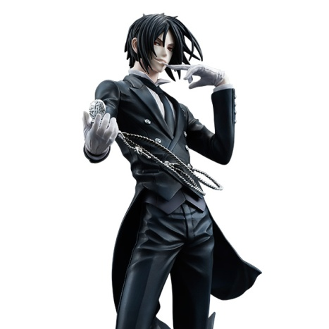 Sebastian Michaelis - Kuroshitsuji ~Book of Circus~ - G.E.M. - 18 Pre-Painted Figure