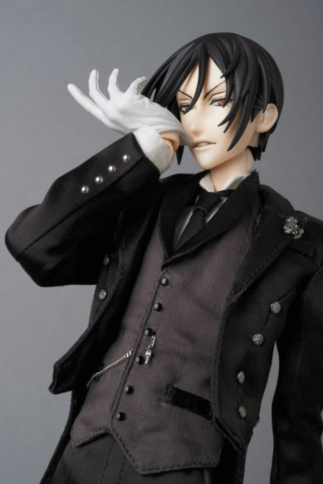 Sebastian Michaelis - Kuroshitsuji ~Book of Circus~ - Real Action Heroes #689 - 16 Pre-Painted Action Figure 4