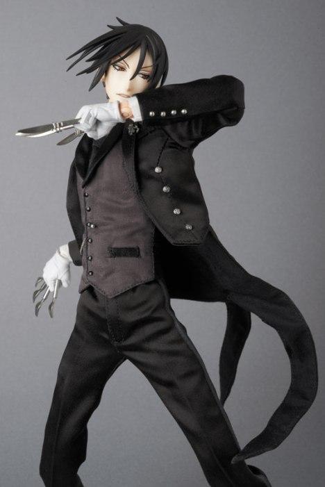 Sebastian Michaelis - Kuroshitsuji ~Book of Circus~ - Real Action Heroes #689 - 16 Pre-Painted Action Figure 5
