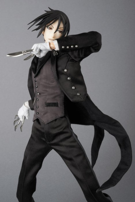 Sebastian Michaelis - Kuroshitsuji ~Book of Circus~ - Real Action Heroes #689 - 16 Pre-Painted Action Figure 5