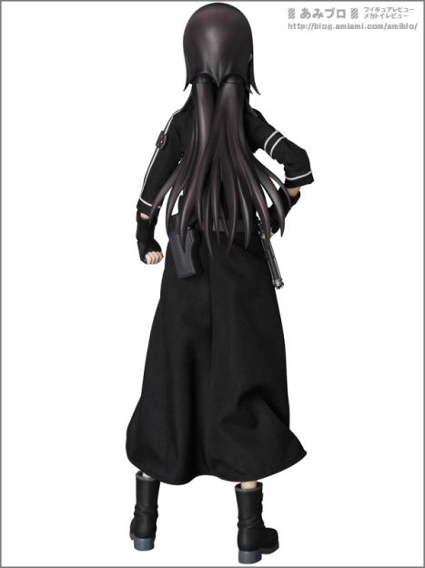Sword Art Online II - Kirito - Real Action Heroes #700 - 16 - GGO ver. (Medicom Toy) Figure 3