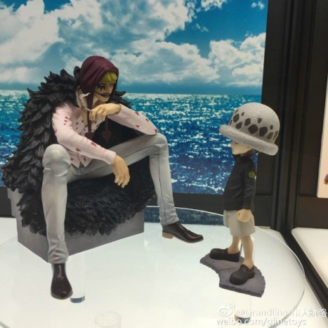 One Piece - Corazon and Law - Excellent Model - Portrait Of Pirates Limited Edition (MegaHouse)