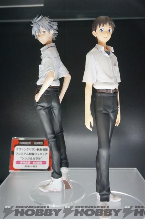 Shin Seiki Evangelion - Ikari Shinji and Kaworu - PM Figure (SEGA)
