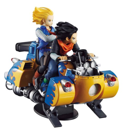 Android 18 and 17 - Dragon Ball Z - Desktop Real McCoy 04 Figure 2