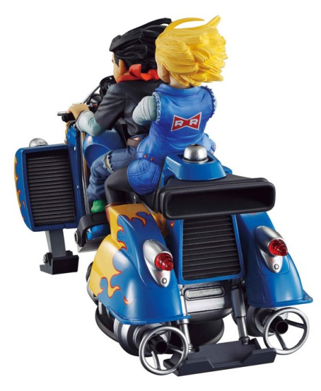 Android 18 and 17 - Dragon Ball Z - Desktop Real McCoy 04 Figure 3