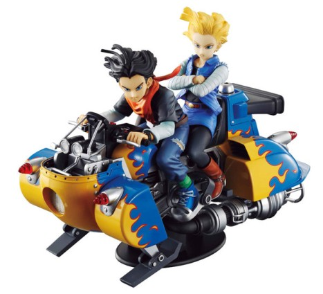 Android 18 and 17 - Dragon Ball Z - Desktop Real McCoy 04 Figure 5