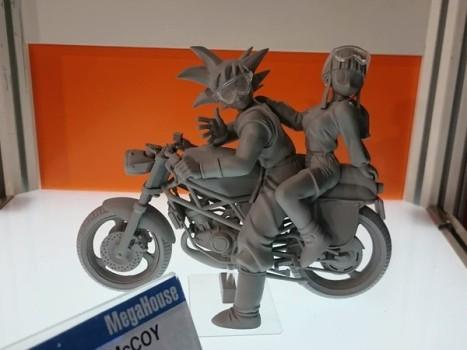 Dragon Ball Z - Chi-chi - Son Goku - Desktop Real McCoy #05 (MegaHouse)