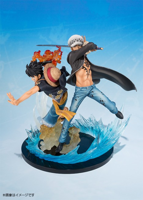 Monkey D. Luffy - Trafalgar Law - One Piece - Figuarts ZERO - -5th Anniversary Edition- Figure  2