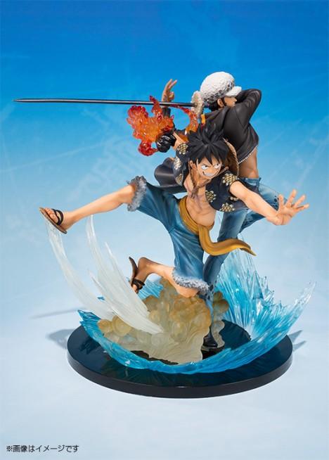 Monkey D. Luffy - Trafalgar Law - One Piece - Figuarts ZERO - -5th Anniversary Edition- Figure  3